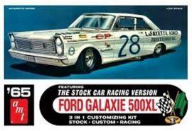 AMT 1965 Ford Galaxie Stock Car