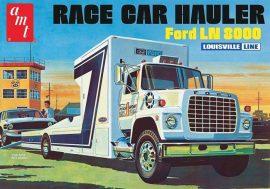 AMT Ford LN 8000 Race Car Hauler