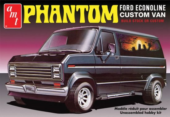 "AMT 1976 Ford Custom Van ""Phantom"" makett"