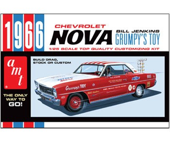 AMT 1966 Chevy Nova-Bill Jenkins makett