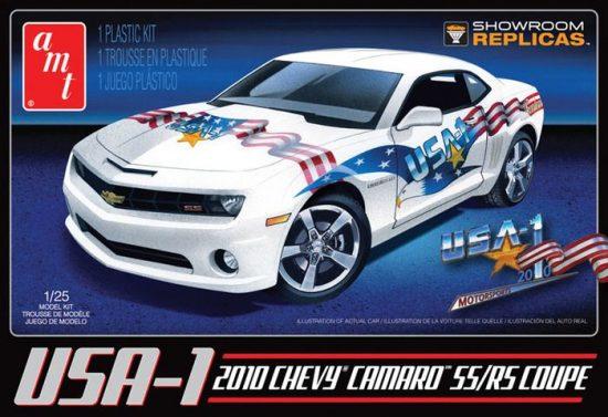 AMT 2010 USA-1 Camaro SS/RS makett