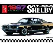 AMT 1967 Ford Mustang Shelby GT-350 moulded in white makett