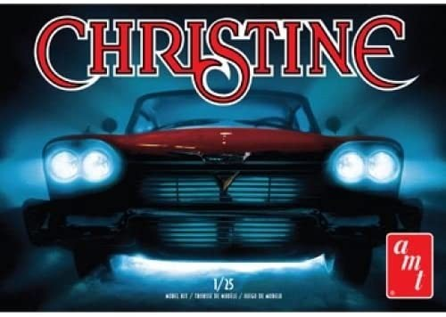 AMT 1958 Plymouth Fury 'Christine' (molded in white) makett