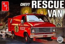 AMT 1975 Chevrolet Rescue Van makett