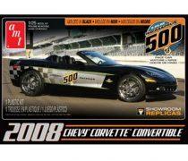 AMT 2008 Chevrolet Corvette Convertible Indy Pace Car makett