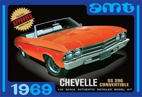 AMT Chevelle Convertible 1969 makett