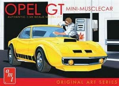 AMT Buick Opel GT. Original Art Series makett