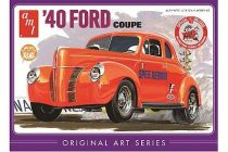 AMT 1940 Ford Coupe Original Art makett