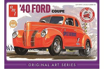 AMT 1940 Ford Coupe Original Art makett
