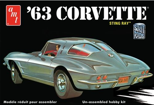 AMT 1963 Chevrolet Corvette makett