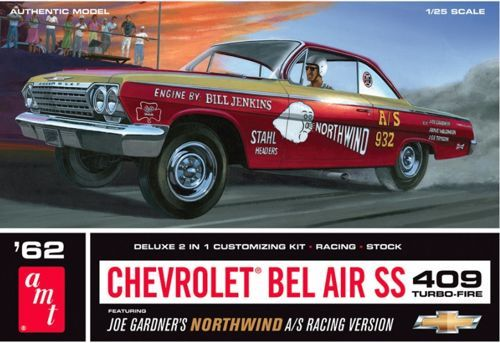 AMT 1962 Chevrolet Bel Air Super Stock makett
