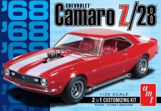 AMT 1968 Camaro Z/28 makett