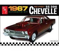 AMT 1967 Chevrolet Chevelle Pro Street makett