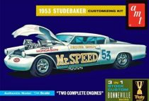 "AMT 1953 STUDEBAKER STARLINER ""MR SPEED"" makett"
