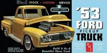 AMT 1953 Ford Pickup makett