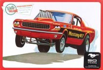 AMT 1965 Ford Mustang Funny Car makett