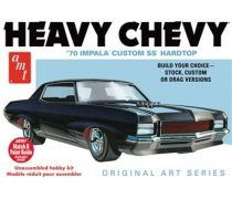 AMT 1970 Chevrolet Impala SS Hardtop - Heavy Chevrolet - Original Art Series makett