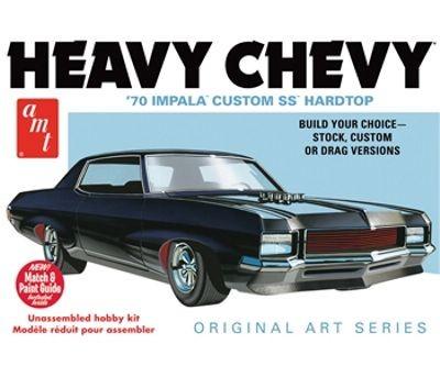 AMT 1970 Chevrolet Impala SS Hardtop - Heavy Chevrolet - Original Art Series makett