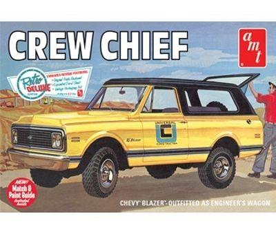 AMT 1972 Chevrolet Cruiser Crew Chief makett