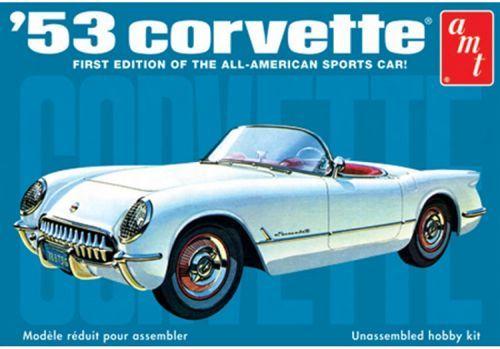 AMT 1953 Chevrolet Corvette makett