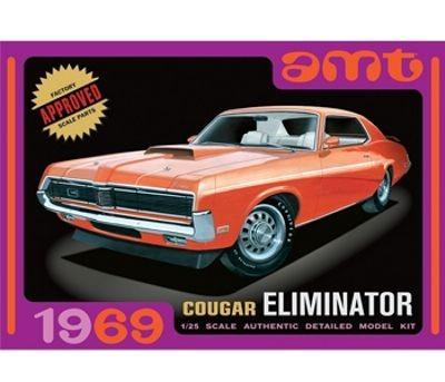 AMT 1969 Mercury Cougar Eliminator - moulded in Orange makett
