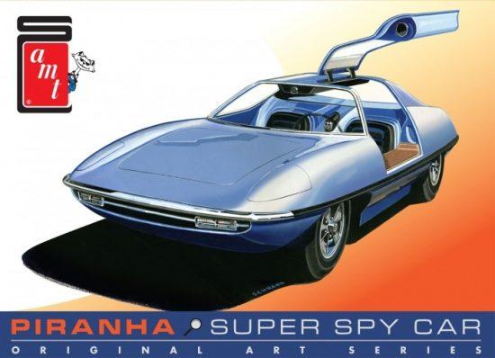 AMT Piranha Spy Car - Original Art Series makett