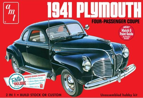 AMT 1941 Plymouth Coupe makett