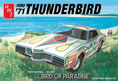 AMT 1971 Ford Thunderbird makett