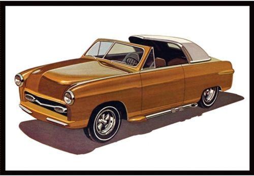 AMT 1950 Ford Convertible makett