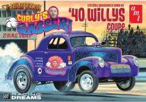 AMT Curly's Gasser 1940 Willys makett