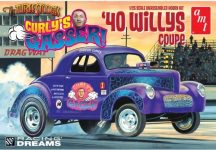 AMT Curly's Gasser 1940 Willys