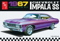 AMT 1967 Chevrolet Impala SS car makett