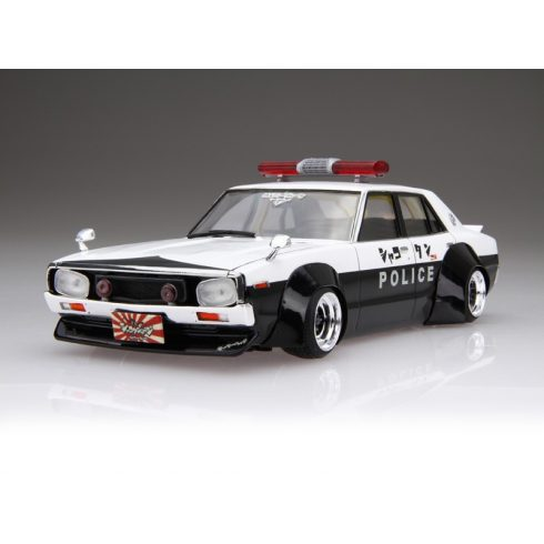 Aoshima Lb Works Ken Mary 4Dr Patrol Car makett
