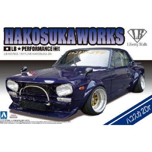 Aoshima Lb Works Hakosuka 2Dr makett