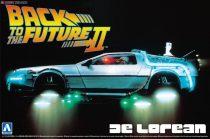 Aoshima DeLorean from Back to the Future II makett
