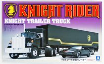 Aoshima Knight Rider Trailer Truck makett