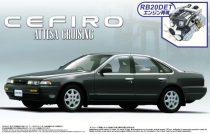 Aoshima Nissan Attesa Cruising '90 makett