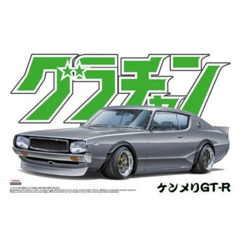 Aoshima Nissan Skyline HT 2000 GT-R makett