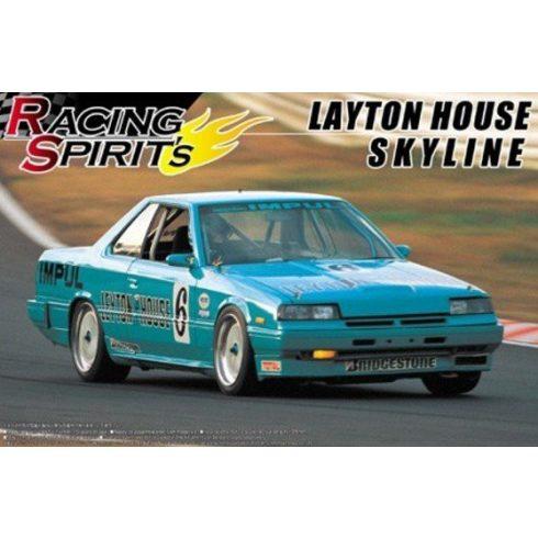 Aoshima Nissan Dr30 Leyton House Skyline makett