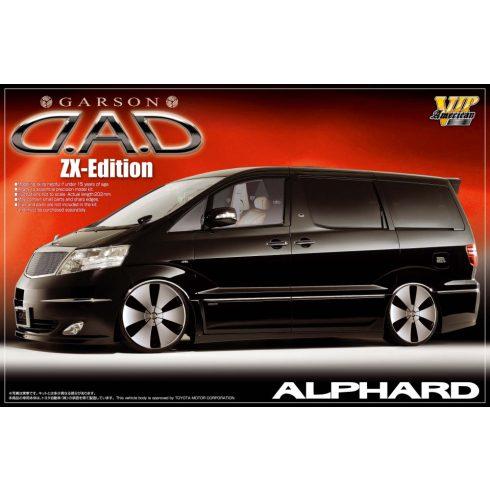 Aoshima Garson D.A.D ZX-Edition Alphard makett