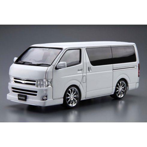 Aoshima Toyota Boxystyle TRH200V Hiace Super GL '10 makett