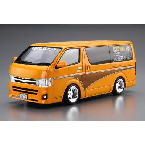 Aoshima Toyota HotCompany TRH200V HIACE 12 makett