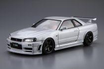 Aoshima Nismo BNR34 Skyline GT-R Z-Tune 2004 makett
