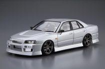 Aoshima Uras ER34 Skyline 25GT-t Nissan makett