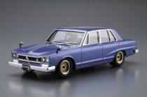 Aoshima Nissan GC10 Skyline 2000 GT 1971 makett