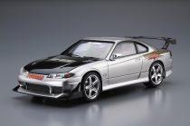Aoshima Nissan Topsecret S15 Silva '99 makett