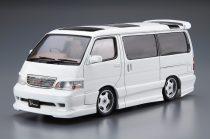 Aoshima Azmax KZM100 Hiace '99 Toyota makett