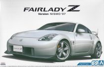 Aoshima 2007 Nissan Fairlady Z (Z33) Version NISMO makett