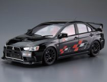 Aoshima 2007 Mitsubishi Lancer Evolution X Ralliart makett