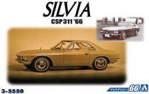 Aoshima Nissan CSP311 Silvia '66 makett